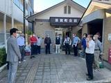 10月3日須賀町町内会では神輿の虫干し