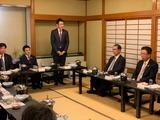 1月9日蕨戸田市医師会・役員新年会