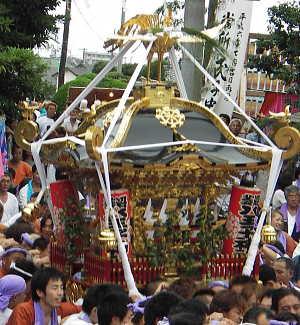 八王子神社神輿