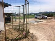 12−会社の入場ゲート(6月14日)
