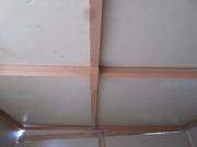 7−断熱材を張る(天井)
