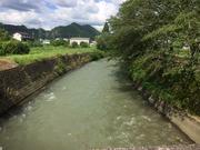 5−自宅裏の川浦川(PM2:25)