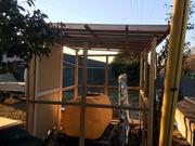 4−屋根にポリカ波板を張る(東)