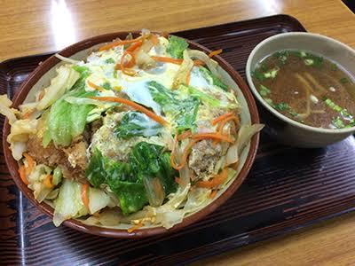 沖縄のカツ丼