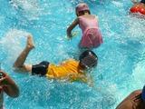 顔つけで泳ぐ 5歳夏