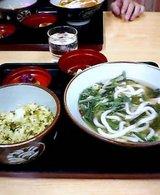 山菜うどんセット