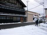 雪ふりました1