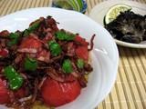 トマトと舞茸