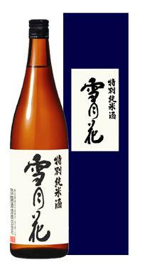 特別純米酒雪月花720mlカートン付
