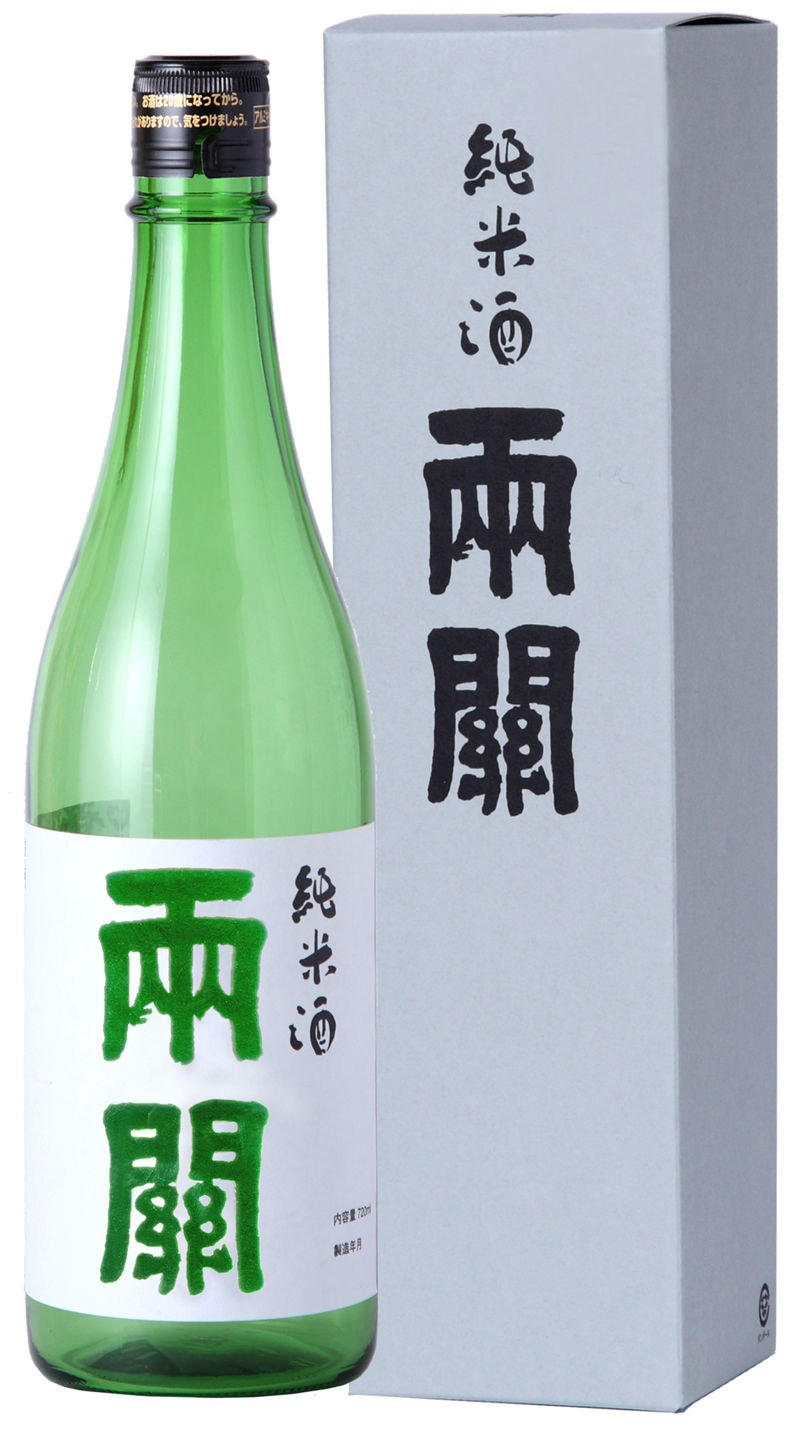 両関純米酒720mlカートン付