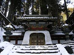 皇嘉門(徳川家光公のお墓)