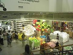 IKEAの店内ですよ〜! ?