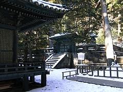 徳川家康公の御墓所・奥宮御宝塔1