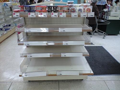 2011年3月13日(日)・東日本大震災後 SATYさん�