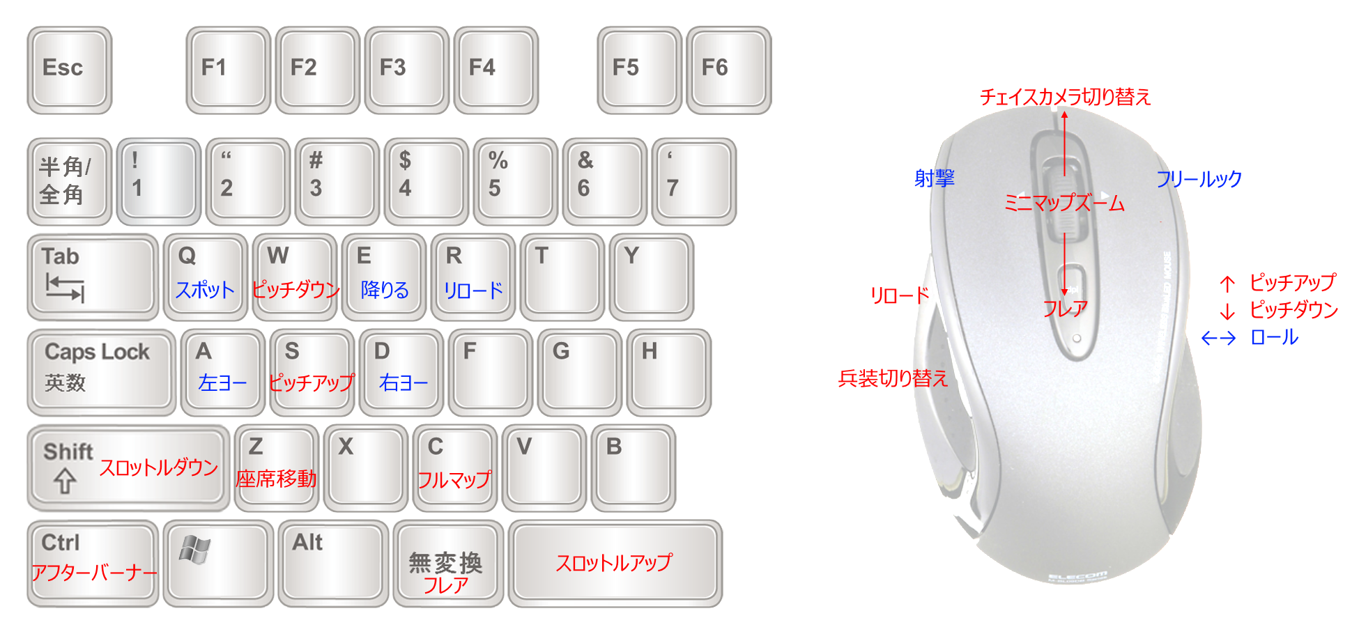 PC版BF4 キーバインドの一例 : わ ...