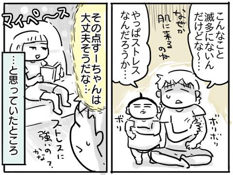 すーちゃんのストレス2