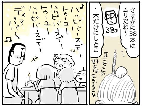 ハッピーバースデーゆうちゃん2