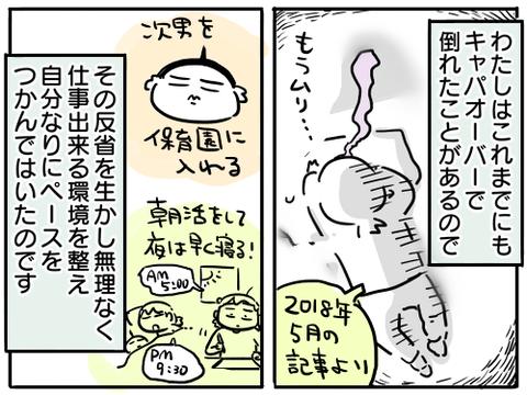 お休み期間7