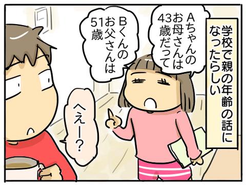 親の年齢1
