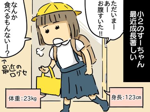 すーちゃん7歳1