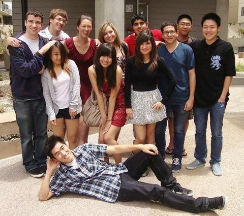 UCSD Dorm Friends