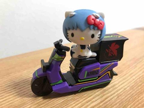 ココイチとエヴァのバイク・綾波レイ