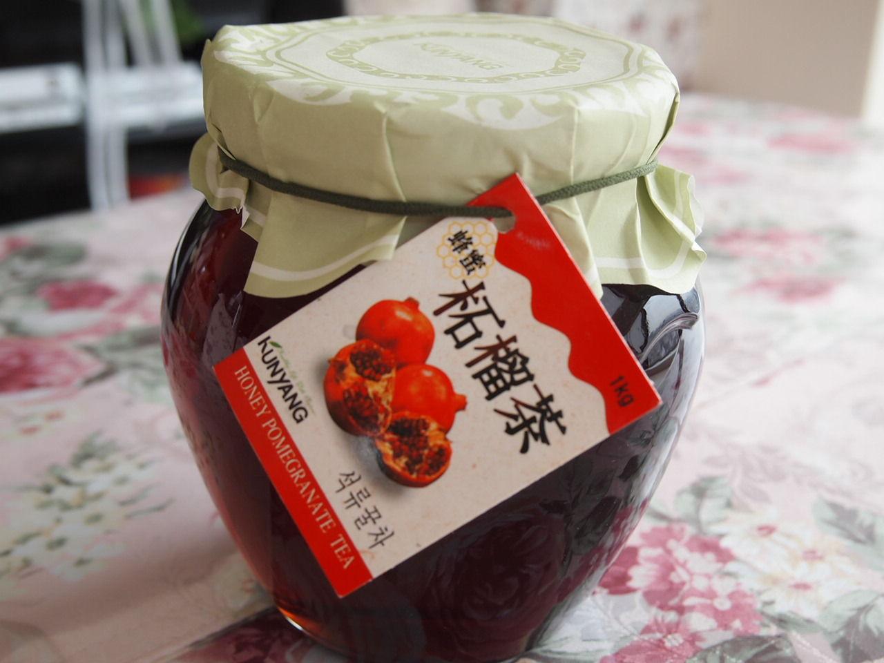 美容と健康ドリンク「KUNYANG 蜂蜜柘榴茶」 : マロンcafe