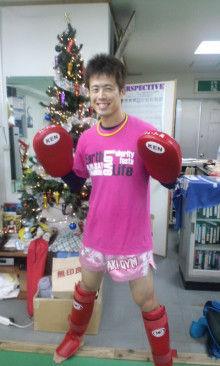 沖縄イケメンキックボクシングトレーナー「ムエカオ」のブログ-101225_1740~01.jpg