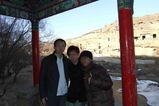 陝北12_楡林_学生とパチリ