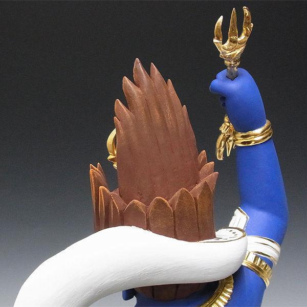 楠/樟(クス) 彩色 蔵王権現 高さ:75cm (販売・木彫り)