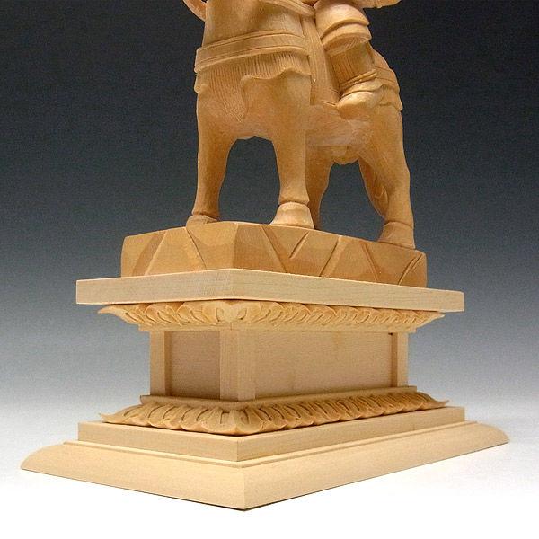 桧/檜(ヒノキ) 将軍地蔵菩薩 高さ30cm (販売・木彫り)