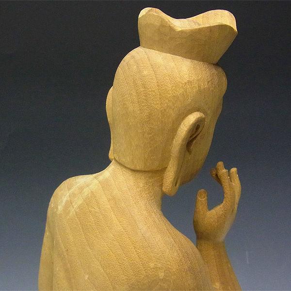 【特別プライス】楠/樟(クス) 弥勒菩薩 高さ:51cm