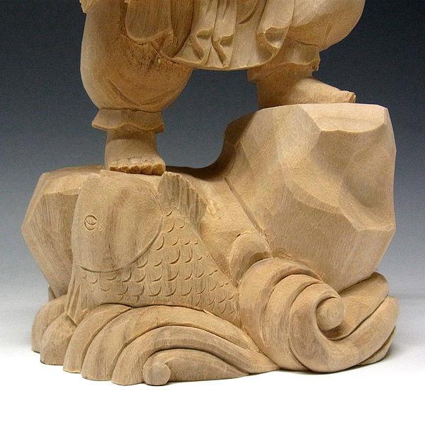 楠/樟(クス) 木彫りの龍亀(ロングイ) 高33×幅45cm (販売・木彫り)
