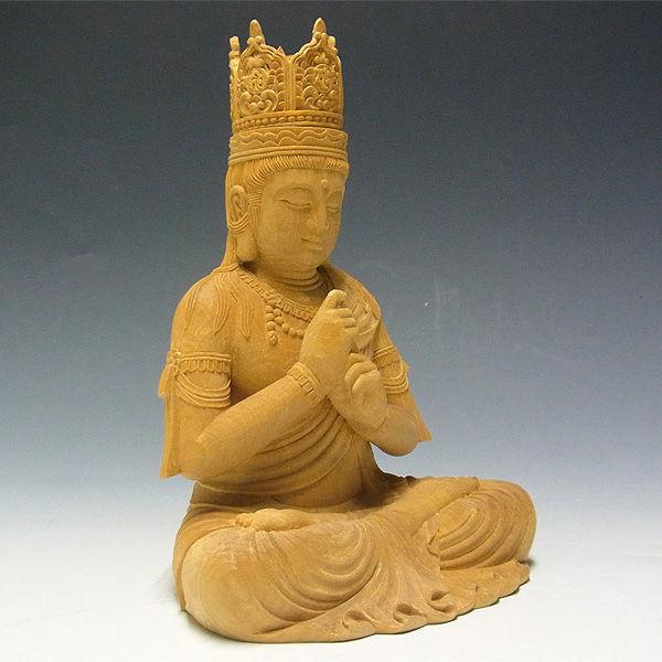 榧(カヤ) 大日如来 高さ:36cm 真言宗 お仏壇向け本尊 (販売・木彫り)