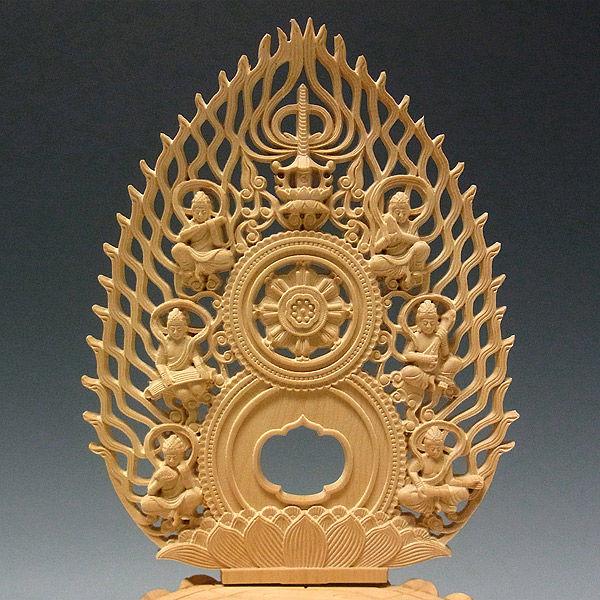 柘植/黄楊(ツゲ) 釈迦如来 高さ27cm (販売・木彫り)