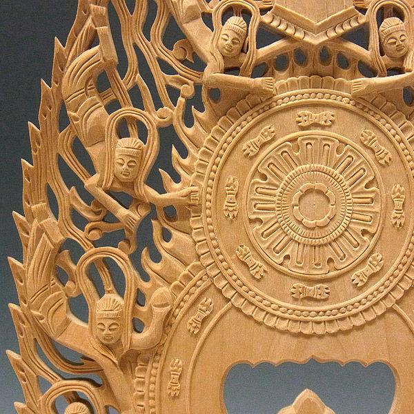 柘植/黄楊(ツゲ) 地蔵菩薩 (坐像) 高さ31cm (販売・木彫り)