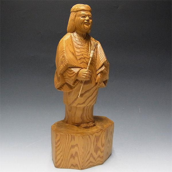【特別プライス】柳杉(やなぎすぎ・リュウスギ) 高砂 翁(シテ)51cm 嫗(ツレ)47cm