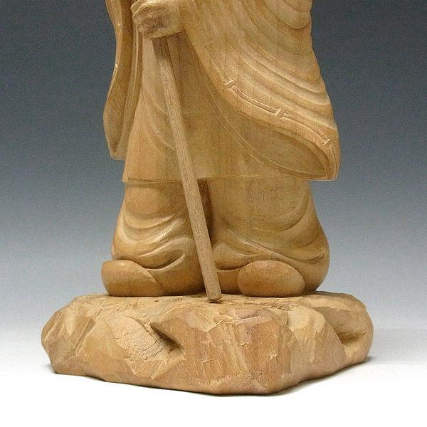 楠/樟(クス) 猿田彦大神 高さ33cm 【国内仏師作品】 (販売・木彫り)