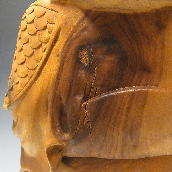 【特別プライス】柳杉(やなぎすぎ・リュウスギ) 三猿(さんざる・さんえん)「見ざる、言わざる、聞かざる」 高22×横55cm