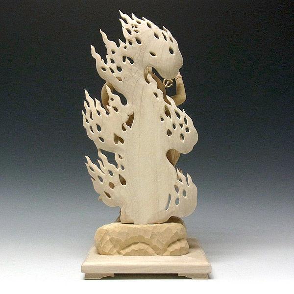 楠/樟(クス) 蔵王権現 高さ45cm (販売・木彫り)