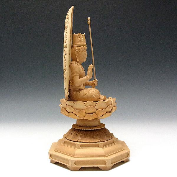 柘植/黄楊(ツゲ) 虚空蔵菩薩 高さ:25cm (販売・木彫り)