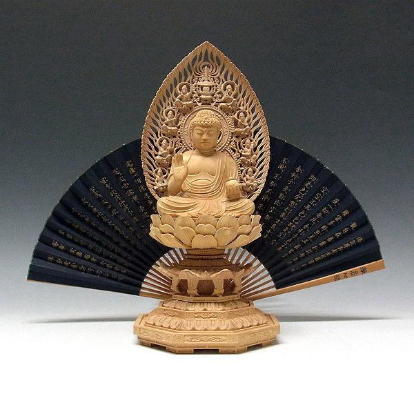 柘植/黄楊(ツゲ) 薬師如来 高さ31cm (販売・木彫り)