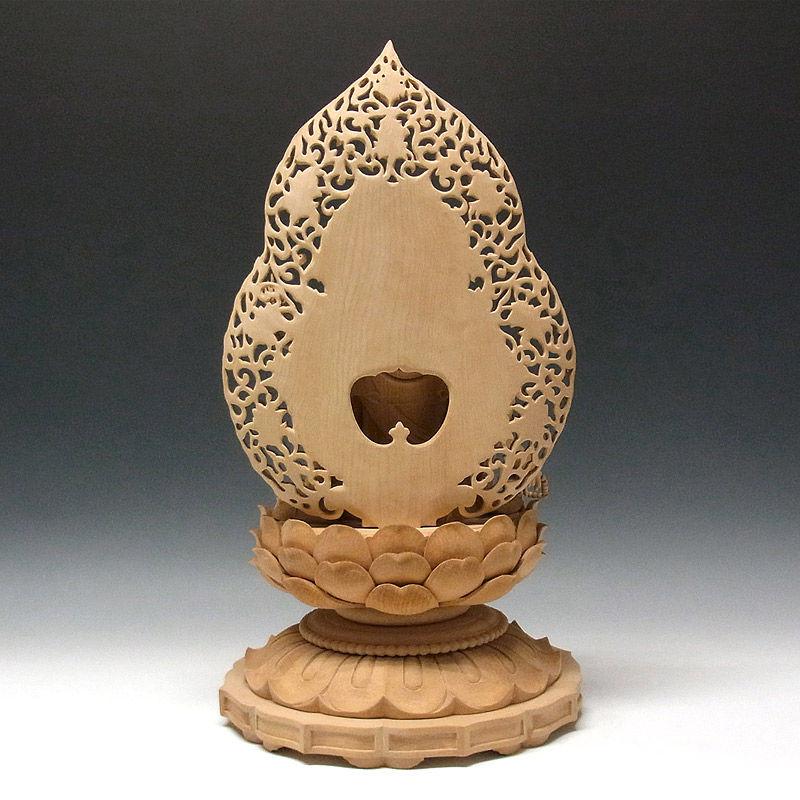 榧(カヤ) 如意輪観音 高さ54cm (販売・木彫り)