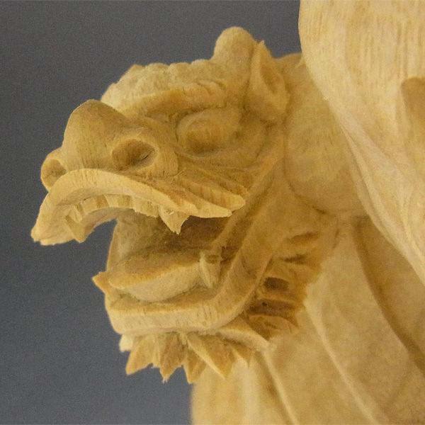 【特別プライス】楠/樟(クス) 龍燈鬼・竜灯鬼(りゅうとうき) 高さ:80cm