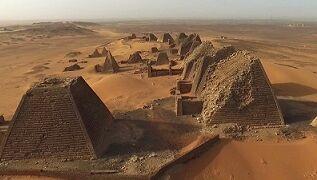 崩れピラミッド