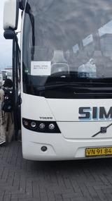 バスに乗る
