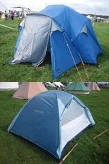 テント2態