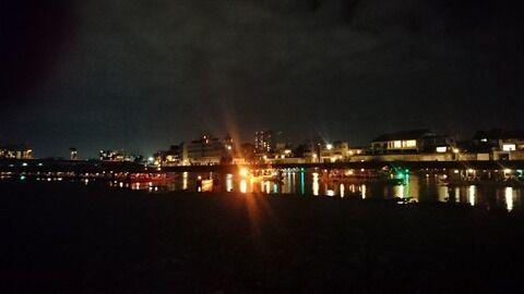 10月長良川ナイトドライブ鵜飼
