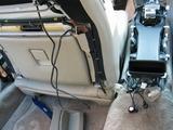 F50,シーマ,DIY,シートバックボード,取り外し