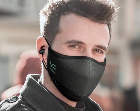 マスクとイヤホンが合体。「MASKFONE」11月発売!